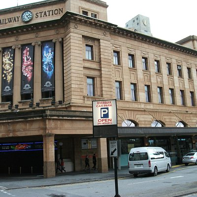 The Adelaide Railway station, sadly converted to a Casino! Yuk