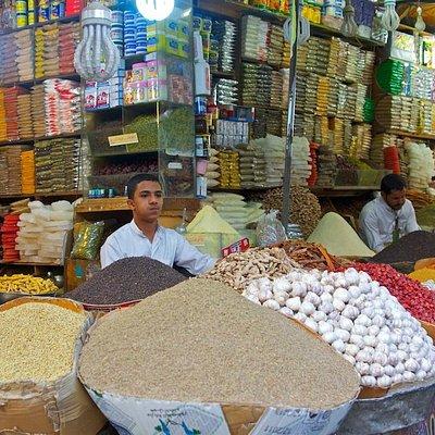 Souk Al-Milh: spice market