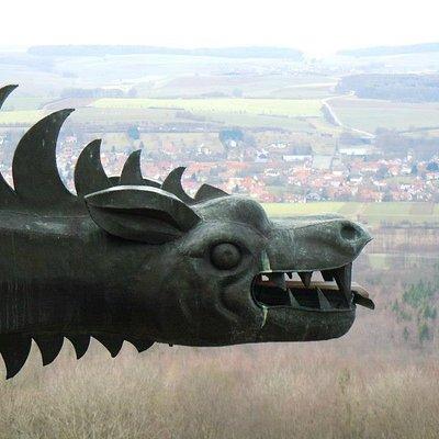 From Giechburg looking on Schesslitz