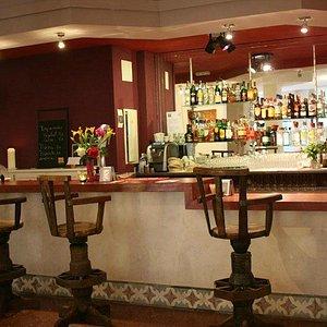 Espacio del bar.