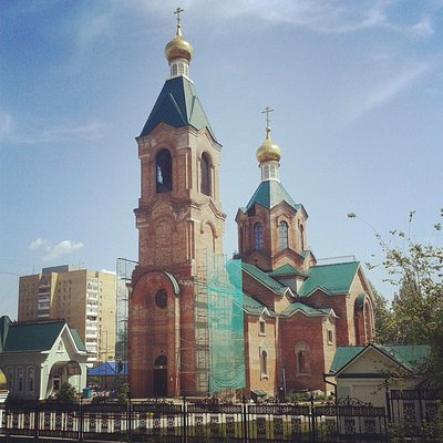 Church of Saint Patriarch Tikhon of Moscow in May 2013