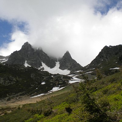 Alpine hike in Chamonix