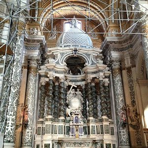 Church main altar