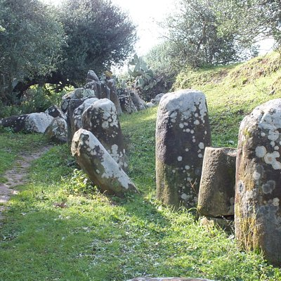 Some of the megalithic stones.