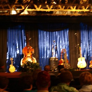 Stage at Brickshy's.