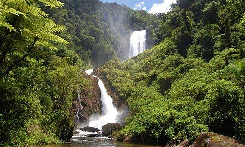 Cachoeira dos veados, próxima da Pousada