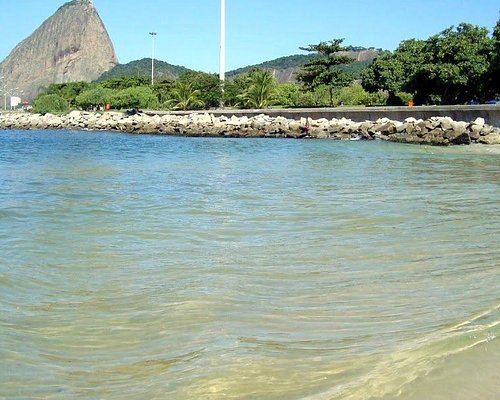 The View of the Sugar Loaf from the tip of Flamengo Beach