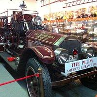 Historical Boston firetruck