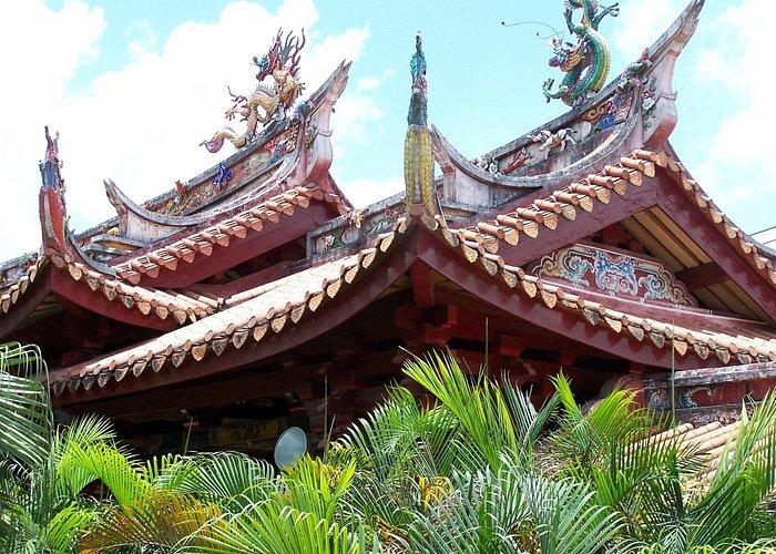 Nanshan Temple Roof