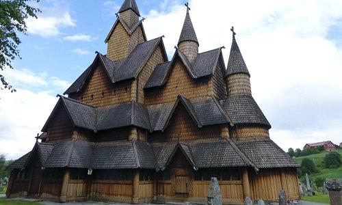 Stabskirche in Heddal/Norwegen