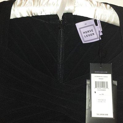 LBD (Little Black Dress) - black Raquel bandage dress, $1050