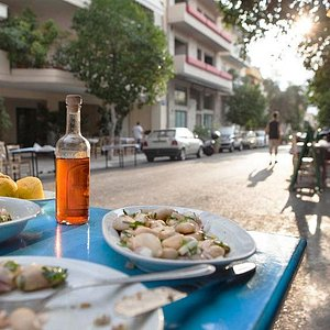 """From the """"Culinary Secrets of Downtown Athens"""" walk"""