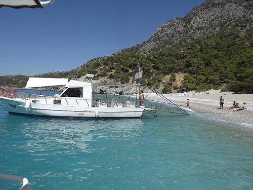 Captain Ozay's Sport fishing daily boat trip in Oludeniz Fethiye Turkey