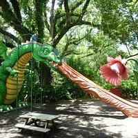 The crazy dragon slide