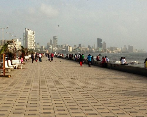 The Wide clean sea front