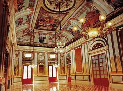 Palau Bofarull (interior Sala Noble)