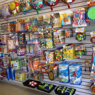 Lots of toys to keep the little ones busy