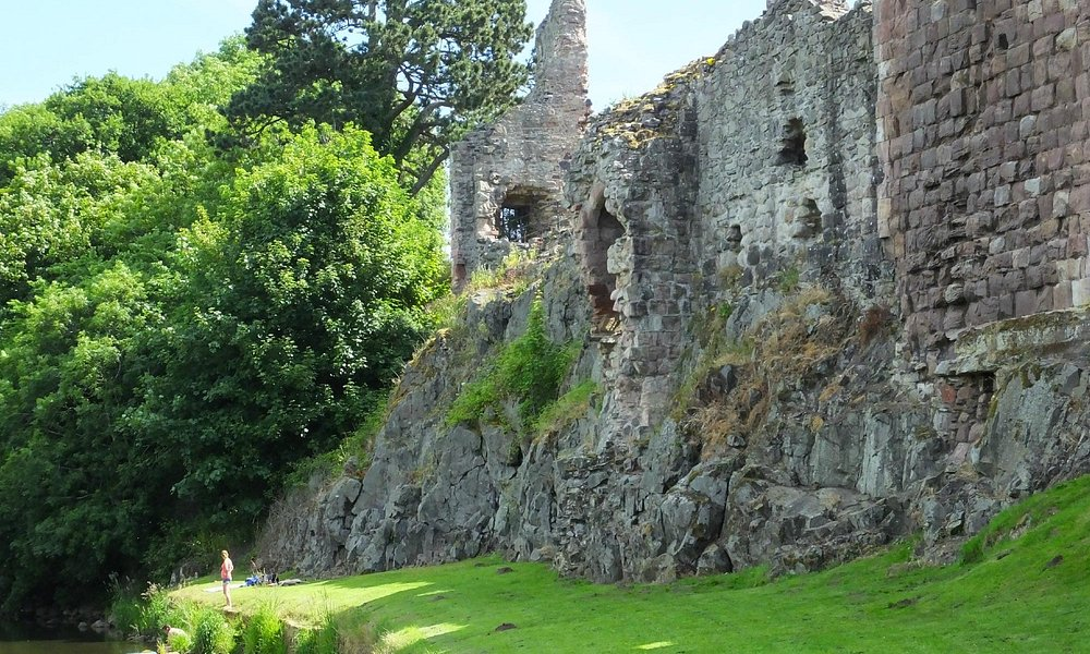 Hailes Castle from the river