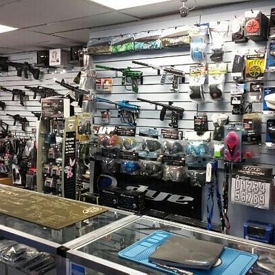 The best paintball store