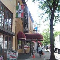 Mario's Italian Restaurant on Arthur Ave.