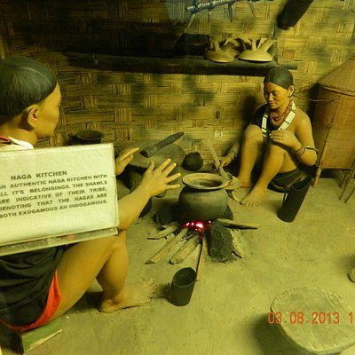 An authentic Naga Kitchen with all its belongings