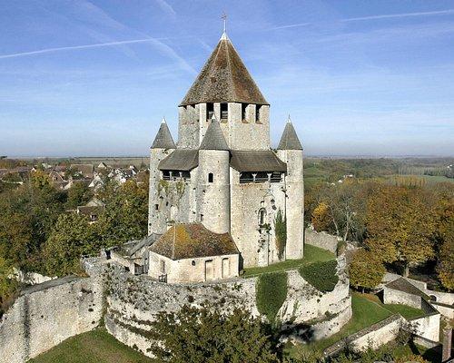 La Tour César, donjon du XIIe s. - Cité médiévale de Provins