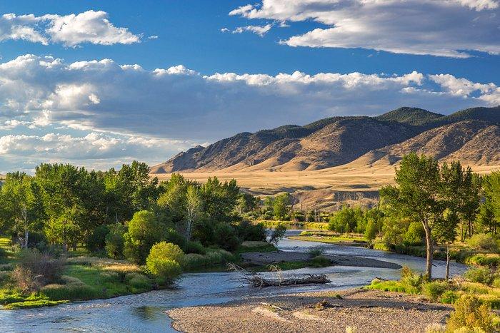 Big Hole River, near Dillon, Montana