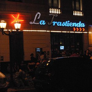 Entrance to La Trastienda (The Backroom/Hidden)