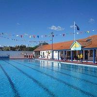 Quiet swims 10-11am peak seasons, 1-2pm other dates