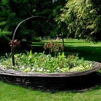 a giant basket