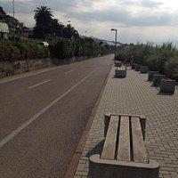 pista ciclabile tratto fra Riva ligure Arma di Taggia