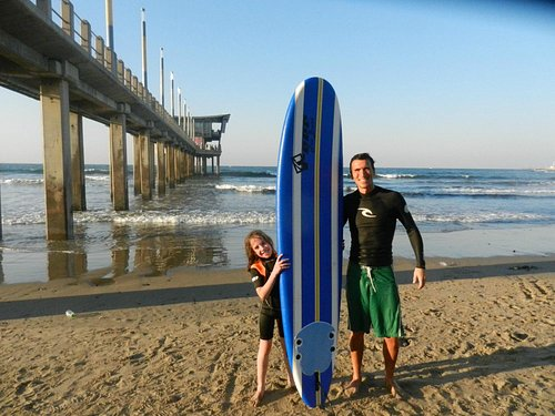 Unforgettable experience - first surfing lesson with Billy