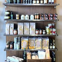Gourment products in the shop