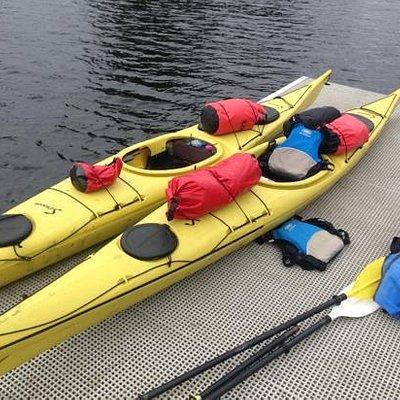 Kayaks and Packsacks