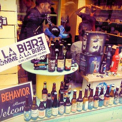 A la bière comme à la bière