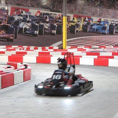 F1 inspired indoor racing