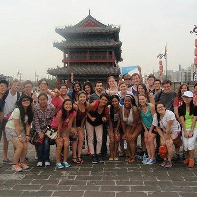 city wall tour