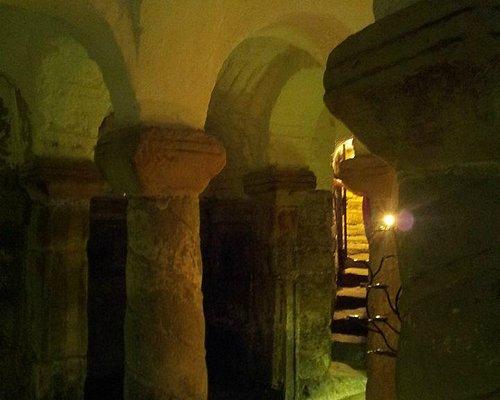 St Wystan Church, Repton - inside the crypt