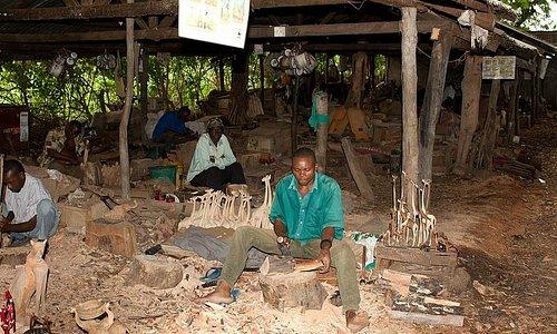 Malindi Wood Carving