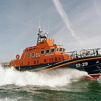 Falmouth's Severn class all-weather lifeboat Richard Cox Scott