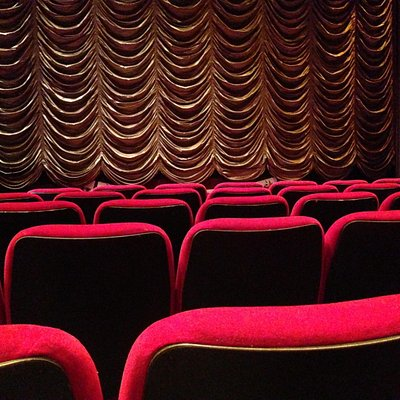 Penistone paramount curtain and seats