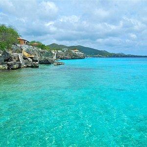 View from Playa Kalki South east