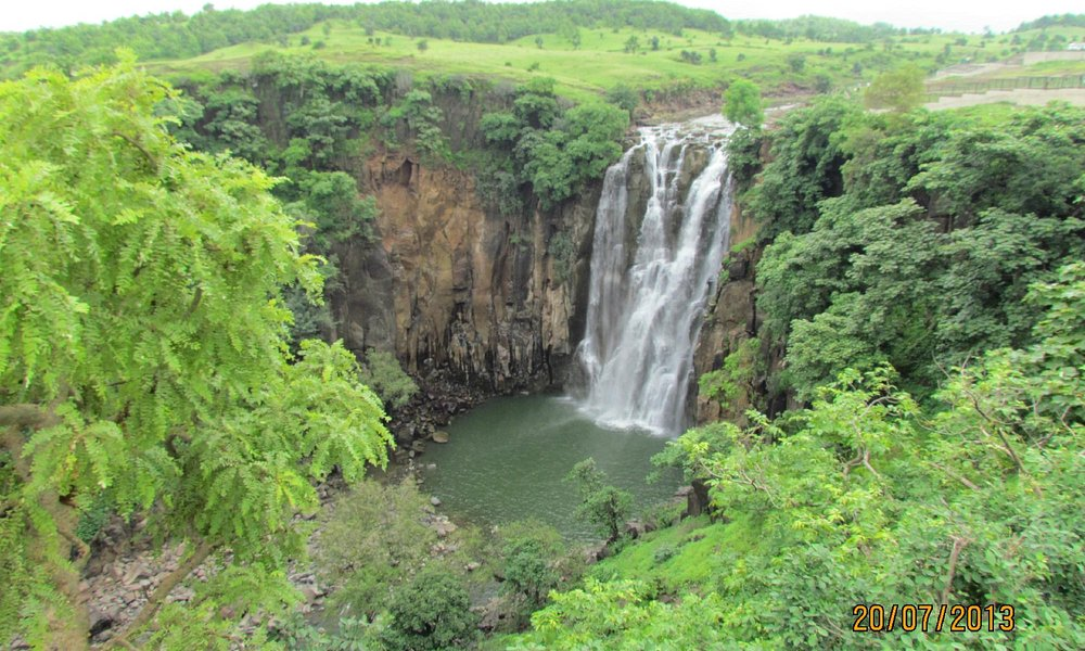 Patalpani waterfall view