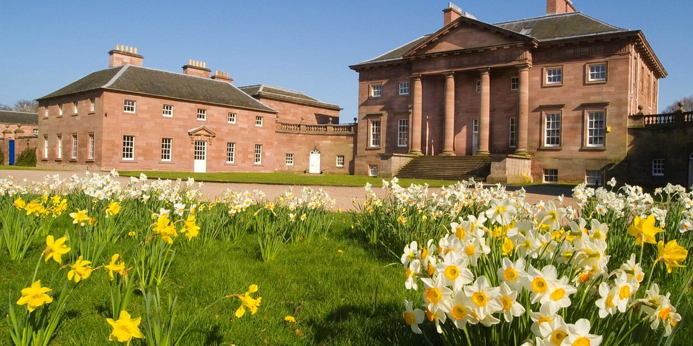 Paxton House in Spring