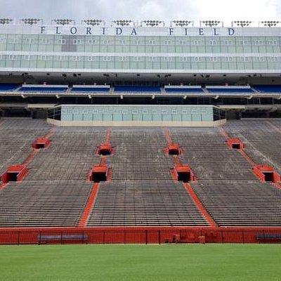 Florida Field from the 50-yard line