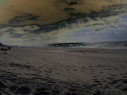 morze w Krynicy wieczorem