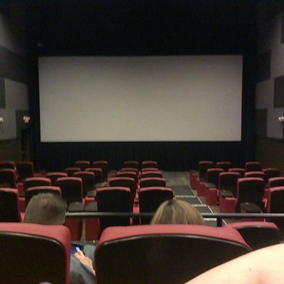View inside theater before show started.