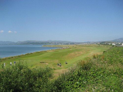 Golf course next door