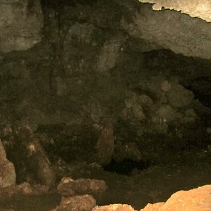 Fresh water inside the caves