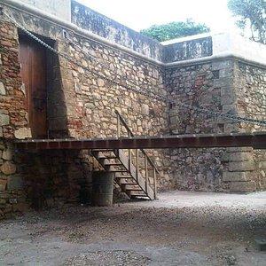 Entrada al Castillo San Carlos Borromeo